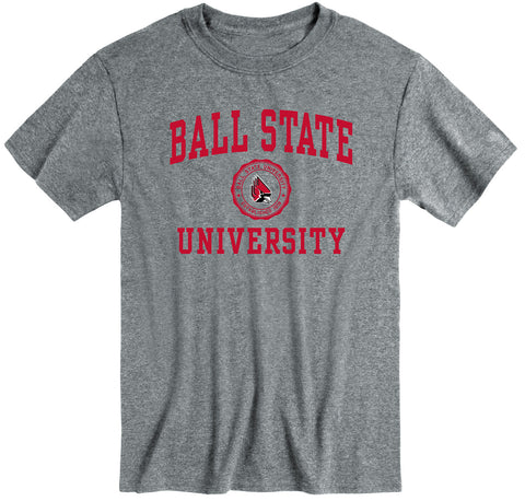 Ball State University Heritage T-Shirt (Charcoal Grey)