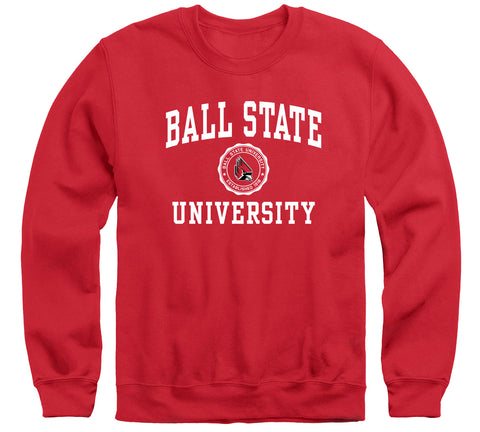 Ball State University Heritage Sweatshirt (Red)