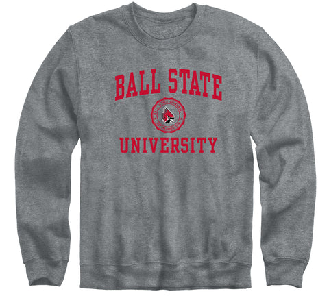 Ball State University Heritage Sweatshirt (Charcoal Grey)