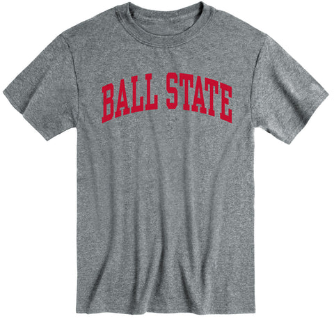 Ball State University Classic T-Shirt (Charcoal Grey)