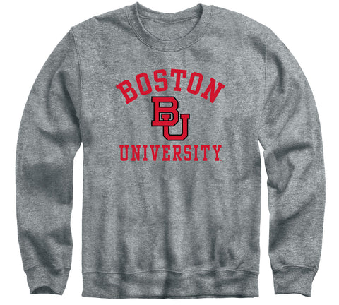 Boston University Heritage Sweatshirt (Charcoal Grey)