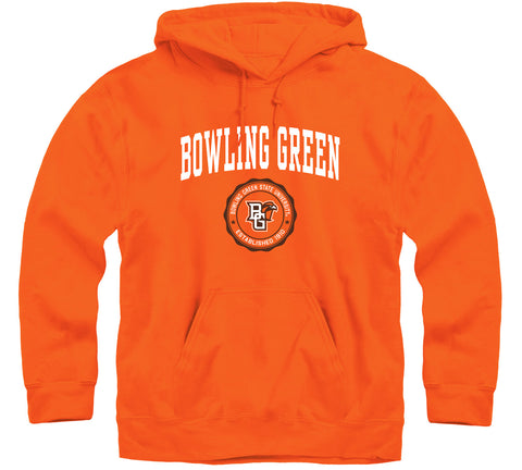 Bowling Green State University Heritage Hooded Sweatshirt (Orange)