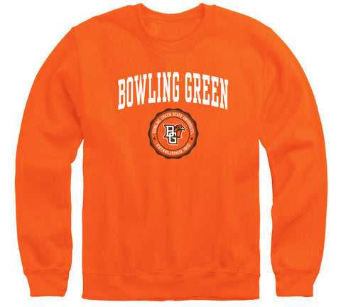 Bowling Green State University Heritage Sweatshirt (Orange)