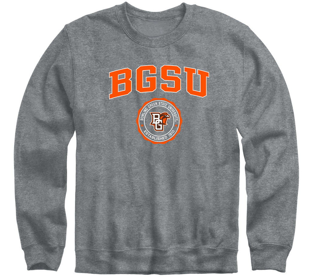 Bowling Green State University Heritage Sweatshirt (Charcoal Grey)