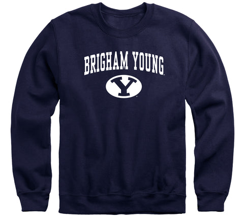 Brigham Young University Heritage Sweatshirt (Navy)