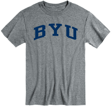 Brigham Young University Classic T-Shirt (Charcoal Grey)