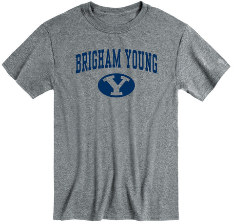 Brigham Young University Heritage T-Shirt (Charcoal Grey)
