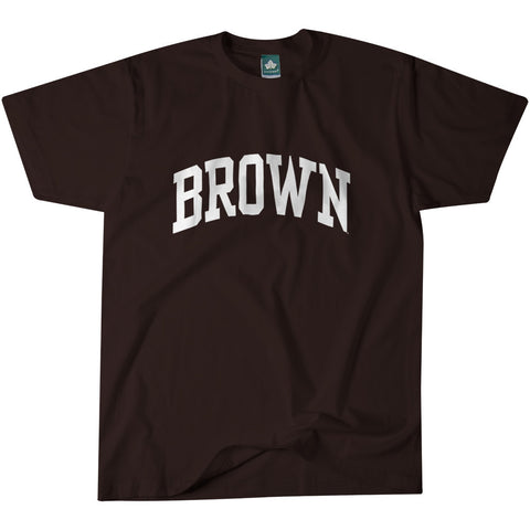 Brown Letter T-Shirt (Brown)