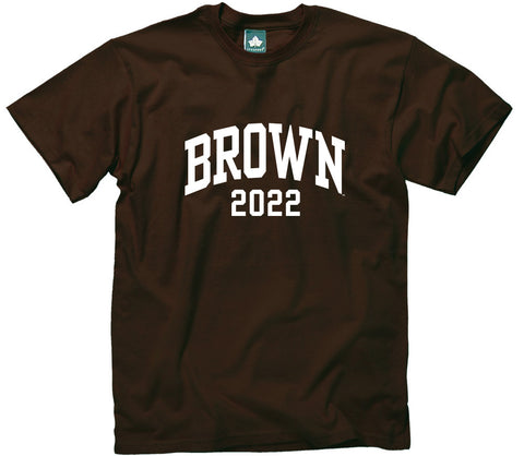 Brown Class of 2022 T-Shirt (Brown)