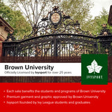 Brown University Bears Classic Hooded Sweatshirt (Brown)