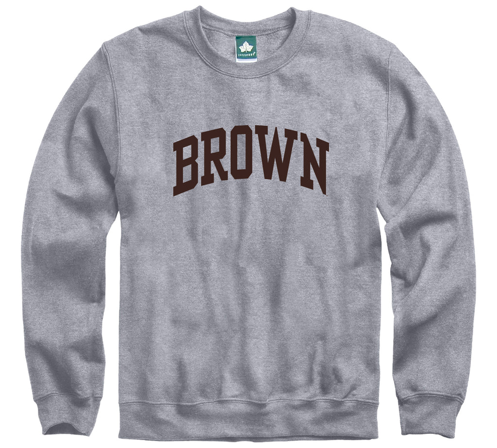 Brown Classic Sweatshirt (Heather Grey)