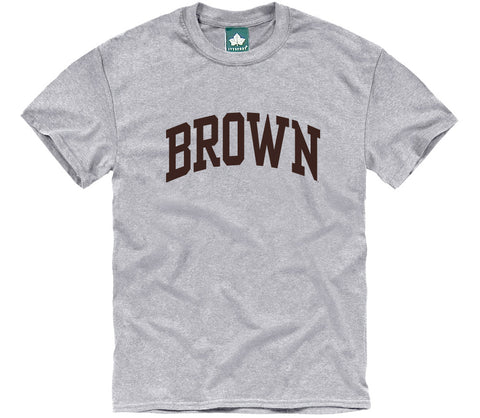 Brown Classic T-Shirt (Heather Grey)