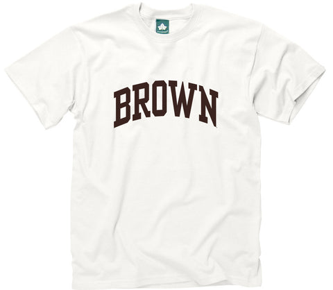Brown Classic T-Shirt (White)