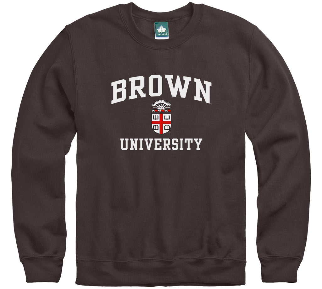 Brown Crest Sweatshirt (Brown)