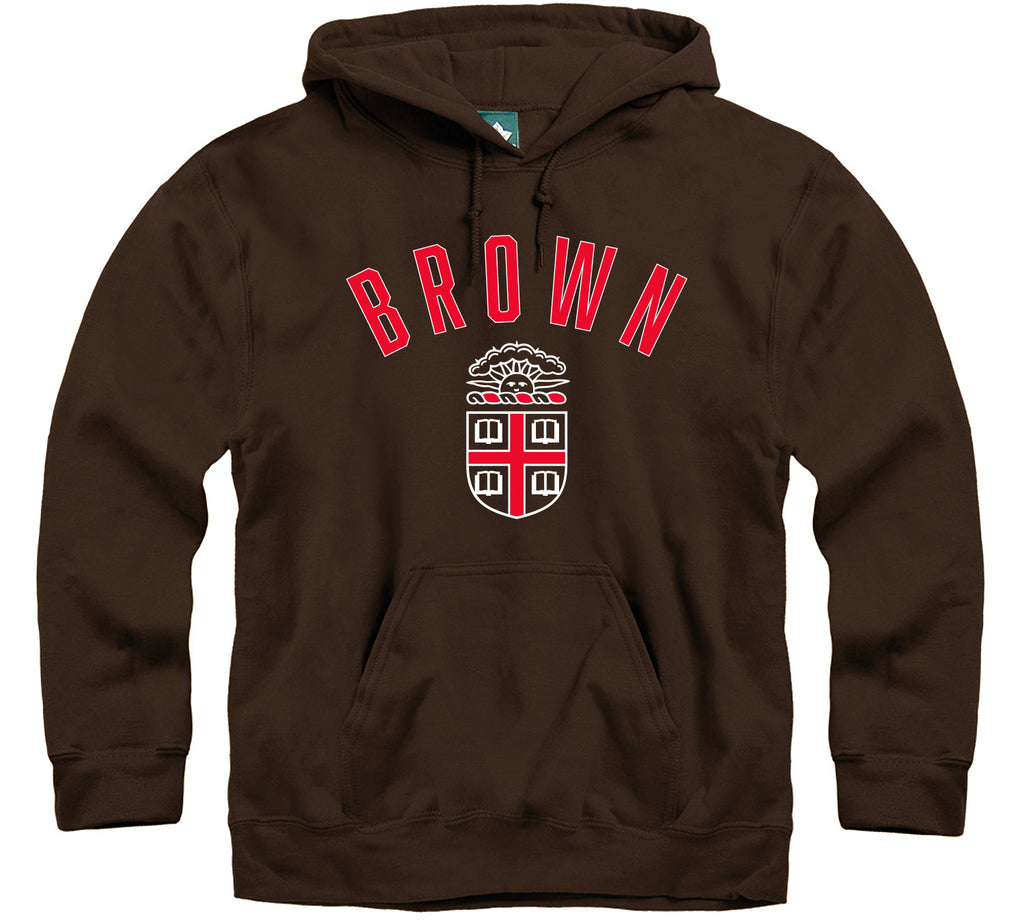 Brown Legacy Hooded Sweatshirt (Brown)