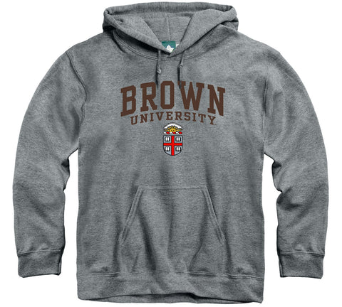 brown university hooded sweatshirt