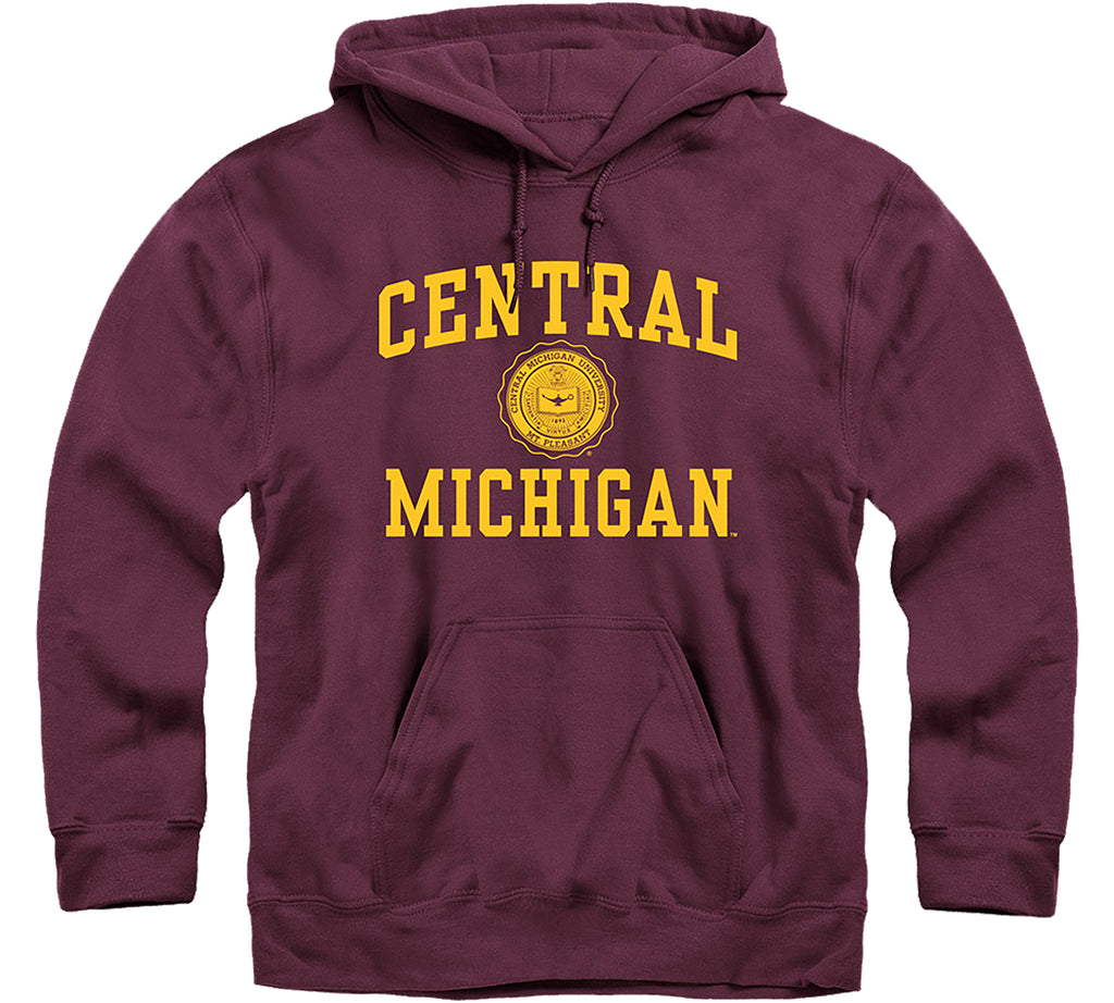 Central Michigan University Heritage Hooded Sweatshirt (Maroon)