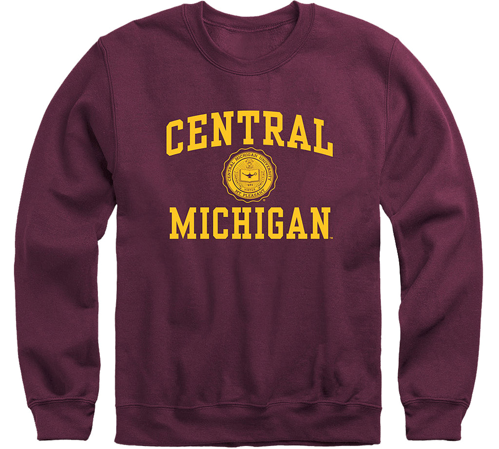 Central Michigan University Heritage Sweatshirt (Maroon)