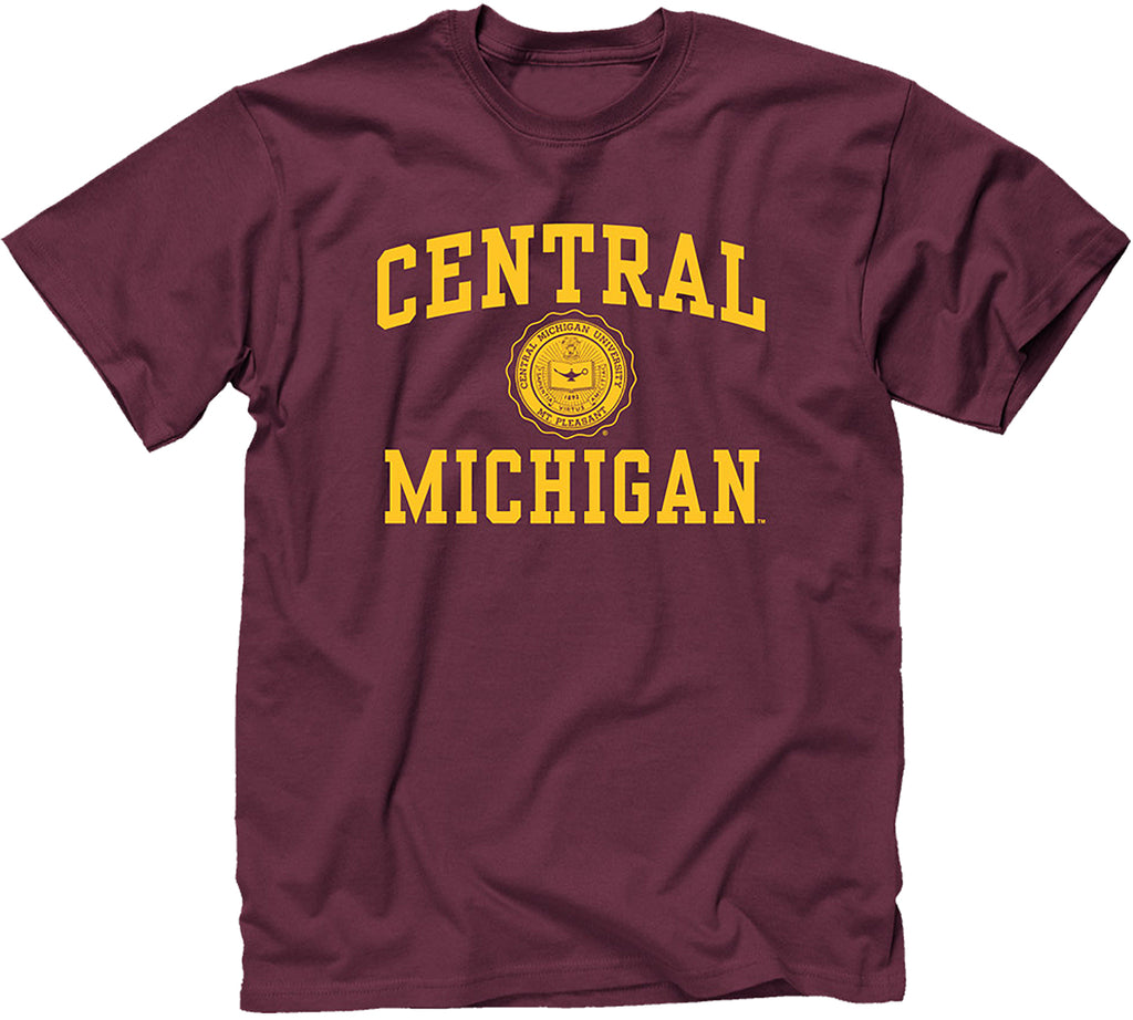 Central Michigan University Heritage T-Shirt (Maroon)