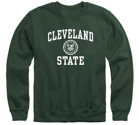 Cleveland State University Heritage Sweatshirt (Hunter Green)