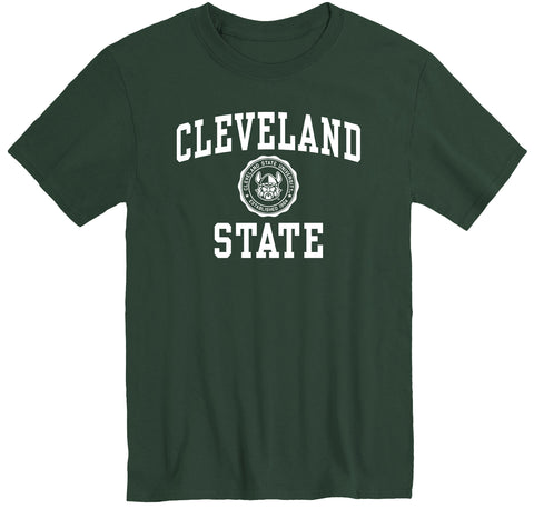 Cleveland State University Heritage T-Shirt (Hunter Green)