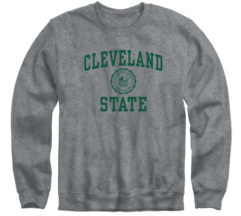 Cleveland State University Heritage Sweatshirt (Charcoal Grey)
