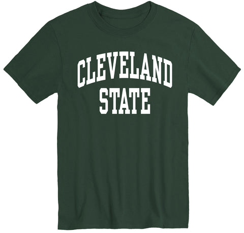 Cleveland State University Classic T-Shirt (Hunter Green)
