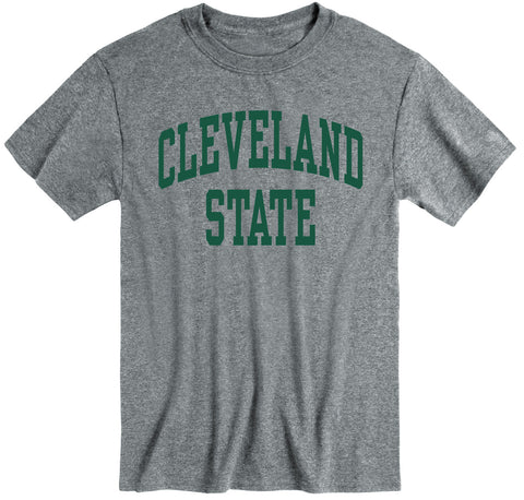 Cleveland State University Classic T-Shirt (Charcoal Grey)