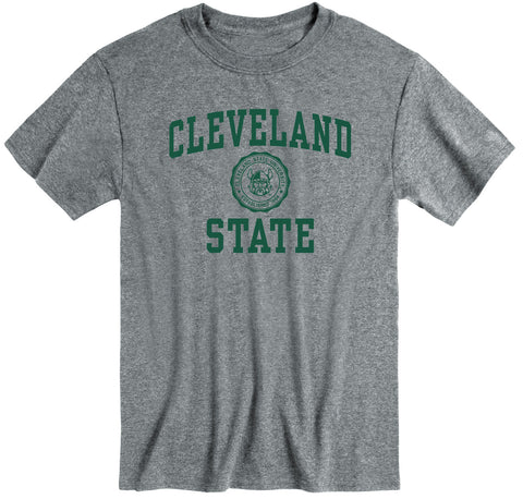 Cleveland State University Heritage T-Shirt (Charcoal Grey)