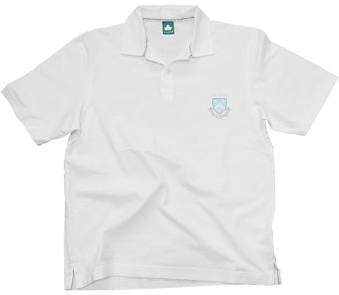 Columbia Crest Cotton Jersey Polo (White)