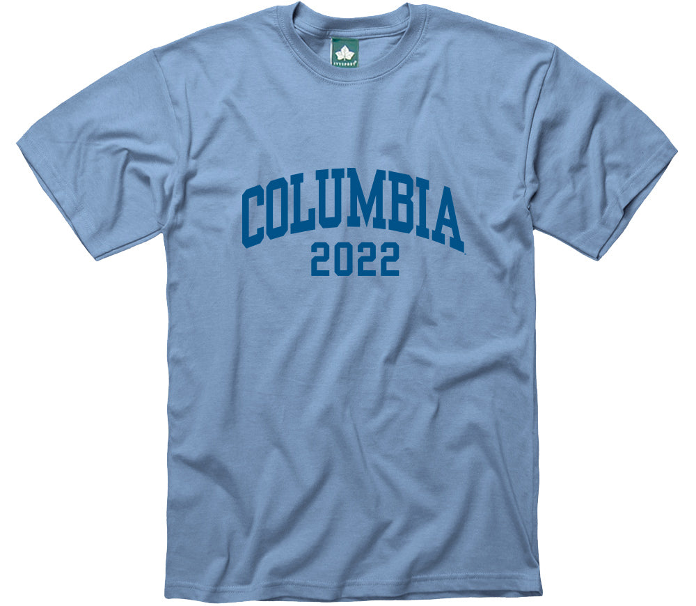 Columbia Class of 2022 T-Shirt (Light Blue)