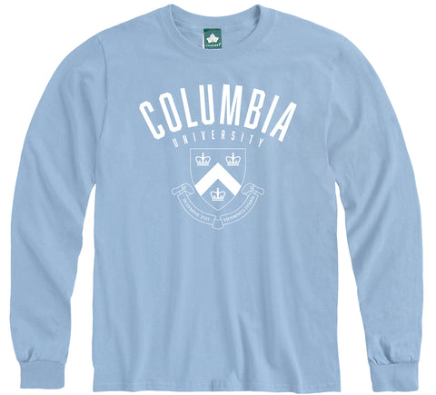 Columbia Heritage Long Sleeve T-Shirt (Light Blue)