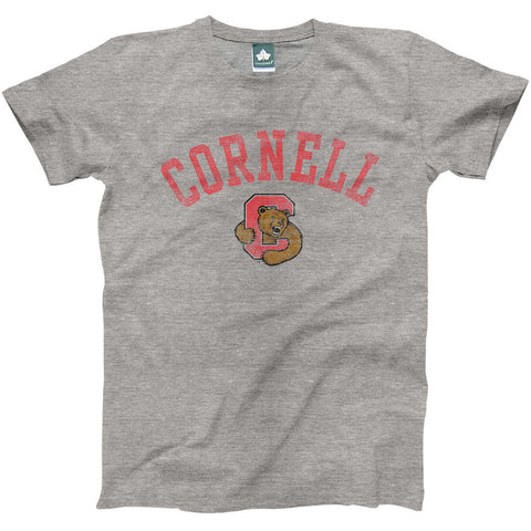 Cornell Team Vintage T-shirt (Heather Grey)