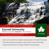 Cornell Crest T-Shirt (Heather Grey)