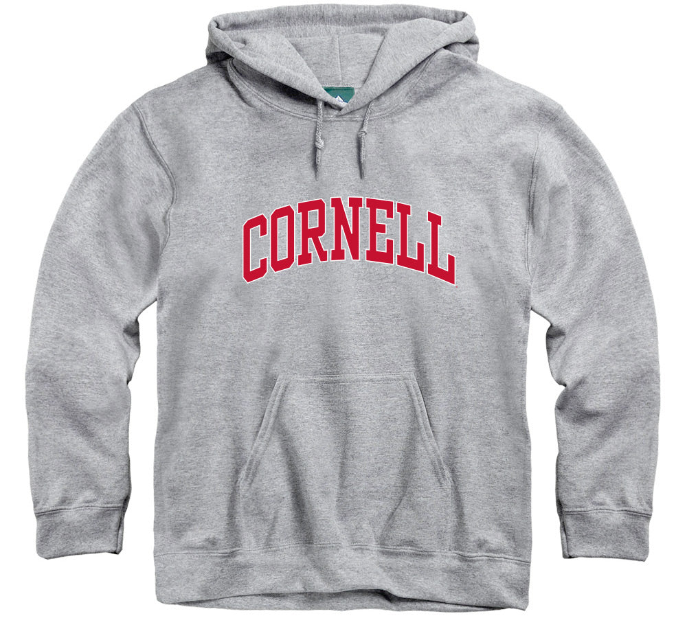 Cornell Classic Hooded Sweatshirt (Heather Grey)