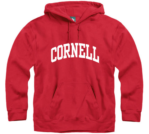 Cornell Classic Hooded Sweatshirt (Red)