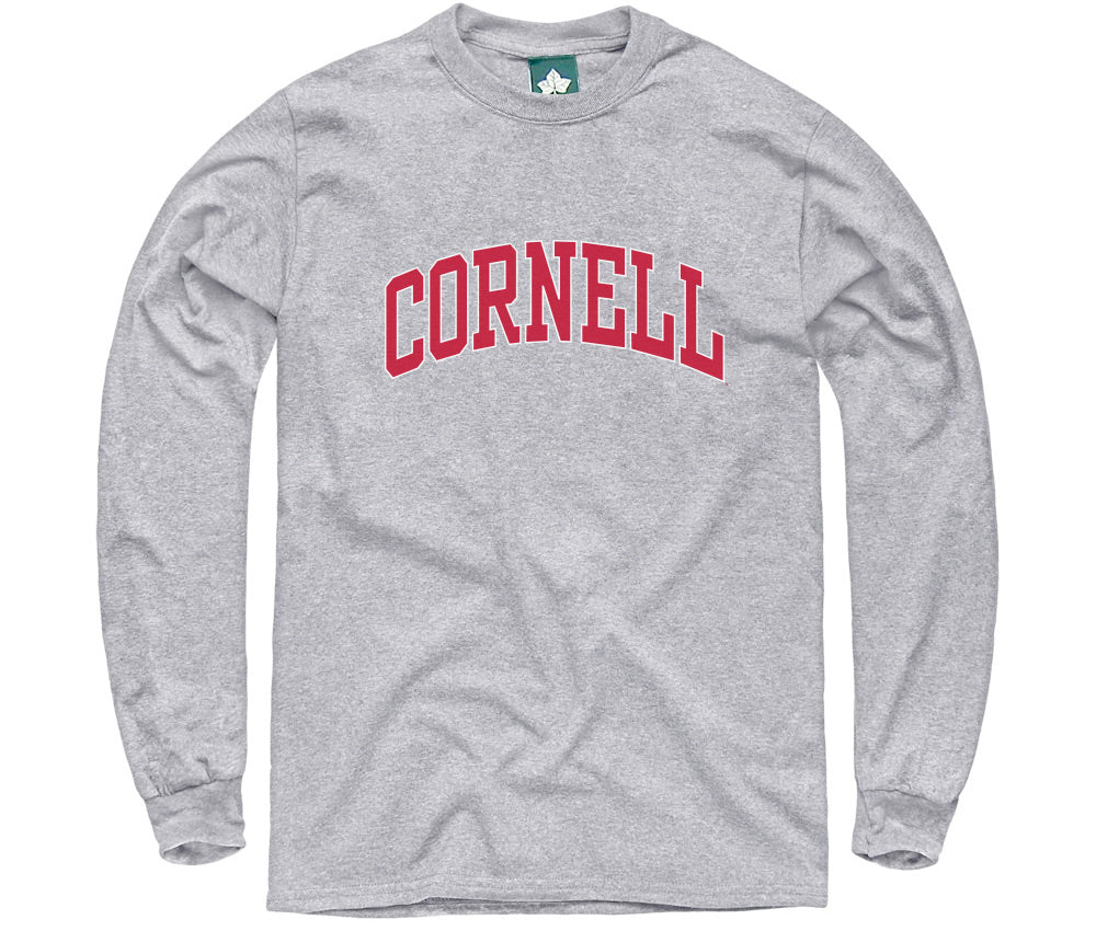 Cornell Classic L/S T-Shirt (Heather Grey)