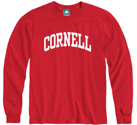 Cornell Classic L/S T-Shirt (Red)