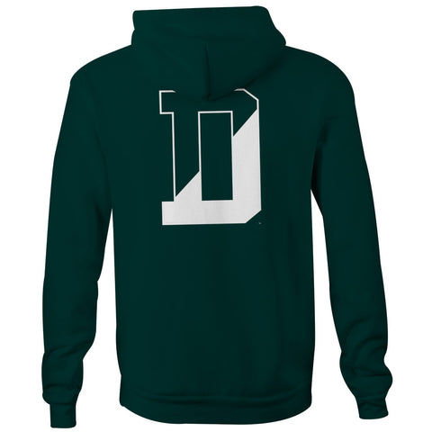 Dartmouth - Letter - Hooded Sweatshirt (Hunter)