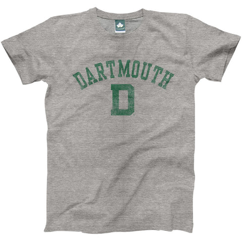 Dartmouth - Team Vintage T-Shirt (Grey)