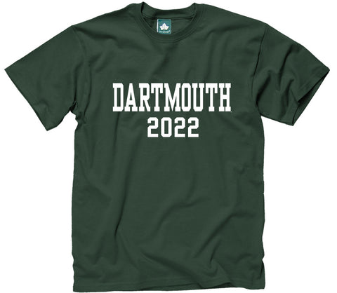 Dartmouth Class of 2022 T-Shirt (Hunter Green)