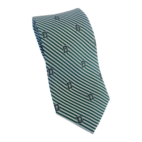 Dartmouth D Stripe Tie (Silk)