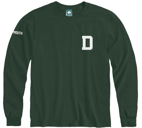 Dartmouth Mascot Long Sleeve T-Shirt (Hunter)