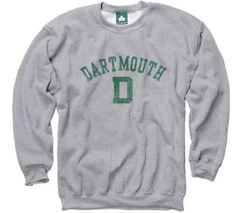 Dartmouth Team Vintage Sweatshirt (Heather Grey)