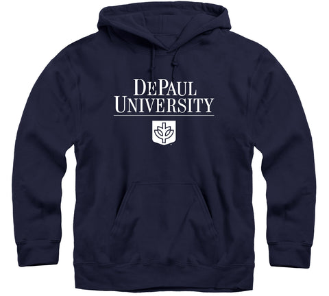 DePaul University Heritage Hooded Sweatshirt (Navy)
