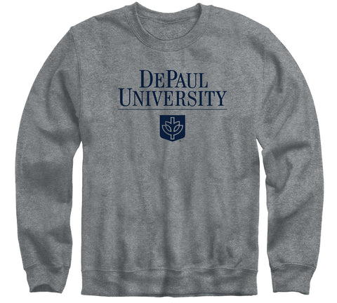 DePaul University Heritage Sweatshirt (Charcoal Grey)
