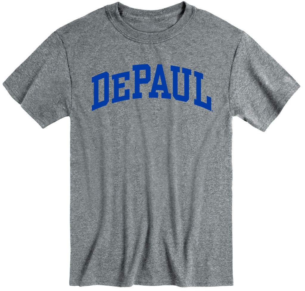DePaul University Classic T-Shirt (Charcoal Grey)