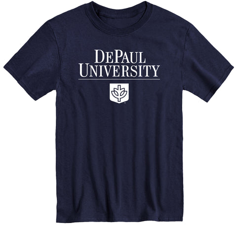 DePaul University Heritage T-Shirt (Navy)
