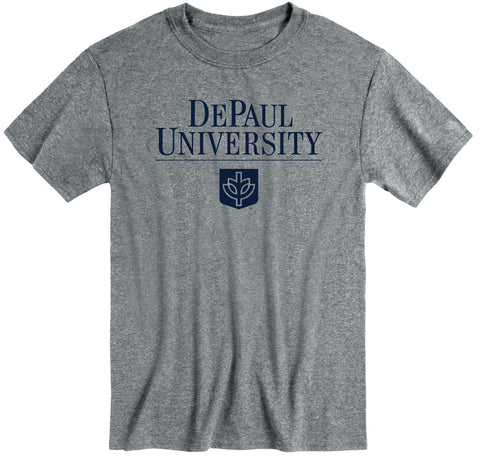 DePaul University Heritage T-Shirt (Charcoal Grey)