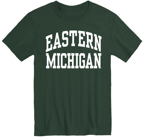Eastern Michigan University Classic T-Shirt (Hunter Green)